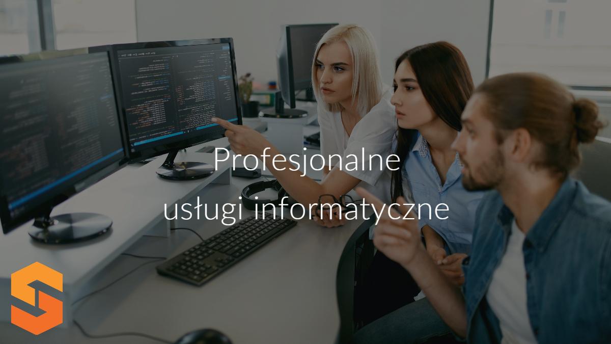 obsługa informatyczna przedsiębiorstw,tworzenie programów dla firm,profesjonalne usługi informatyczne
