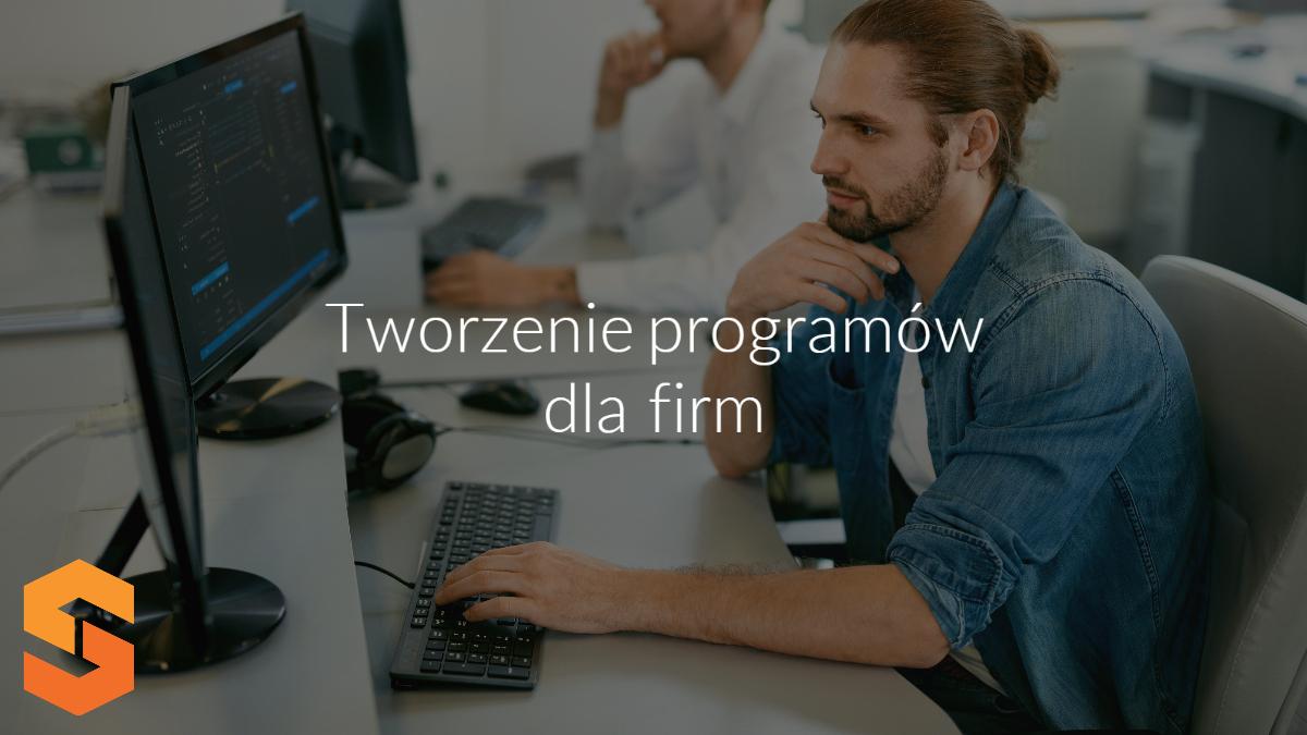 obsługa informatyczna przedsiębiorstw,softwarestudio,tworzenie programów dla firm